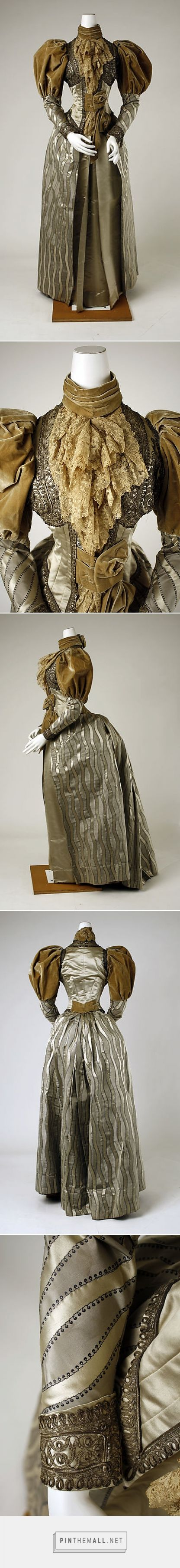 Dress ca. 1894 probably American | The Metropolitan Museum of Art