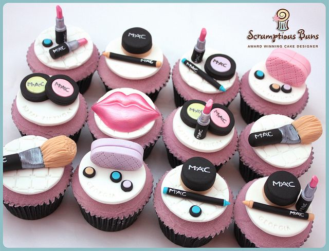 MAC MakeUp Cupcakes | Flickr: Intercambio de fotos