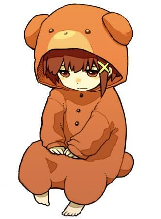 Lain Chibi Bear Suit!  sc 1 st  Pinterest & 85 best Anime images on Pinterest | Manga anime Anime art and Manga ...
