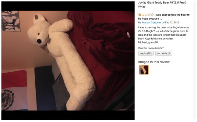 Long-legged Teddy bear that creeped out the internet spotted in Seattle-area Goodwill  88% off!