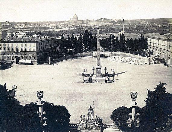 Canvas Photo Print Vintage Rome di Edicom su Etsy