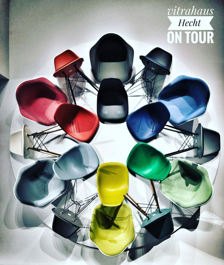 Vitra Eames Plastic Chair trifft hecht einrichtungen  #eameschair #hechteinrichtungen  #vitra