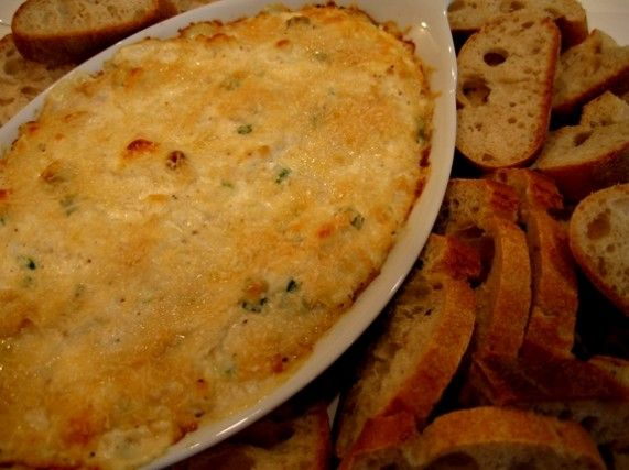 Hot Crab Dip.  Huge hit!! Absolutely the easiest and most satisfying appetizer I put out this year.