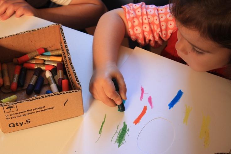 We love crayons!