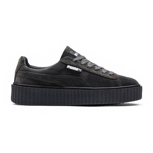 FENTY PUMA by Rihanna Womens Velvet Creeper ($150) ❤ liked on Polyvore featuring shoes, creeper shoes, puma creeper, puma footwear, puma shoes and velvet shoes
