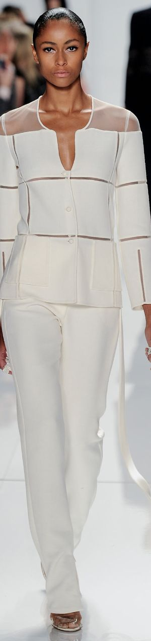 Love this.  NYFW SPRING 2014 Ready-To-Wear...Ralph Rucci♥✤ | KeepSmiling | BeStayBeautiful