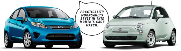 The Question: 2013 #Ford #Fiesta SE or 2013 #Fiat #500 Pop for $200/Month? [Lease Throwdown!] From the April 2013 issue of Car and Driver.