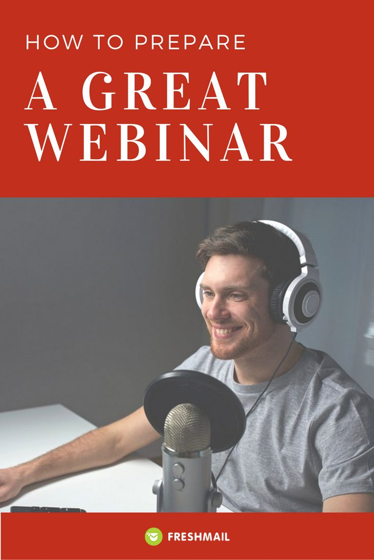 Do you want to increase the awareness of your brand, make contacts and attract new customers? Start making webinars!