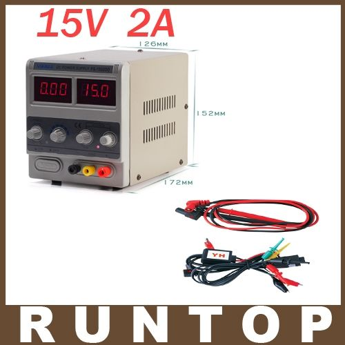 27.26$  Buy now - 220V YIHUA 1502DD 15V 2A Adjustable DC Power Supply LED Display Mobile Phone Repair Power Test Regulated Power Supply  #SHOPPING