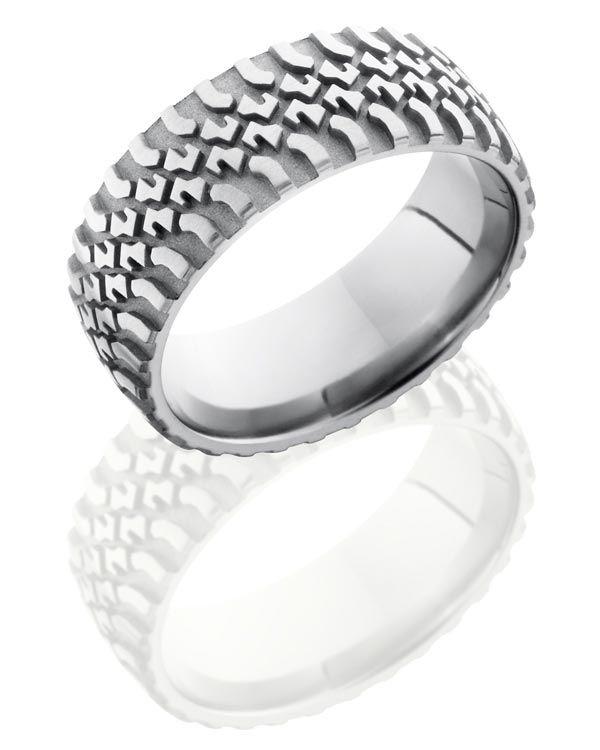 Merveilleux Titanium Tire Tread Ring   Ultimate Tire Rings For Men By Titanium