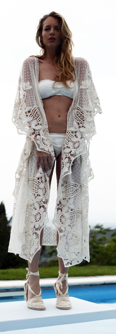 The Ugly Truth Of V Everything White Pool Outfit Idea