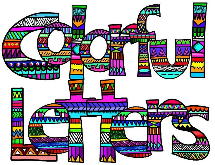 free clipart letters and numbers - photo #4