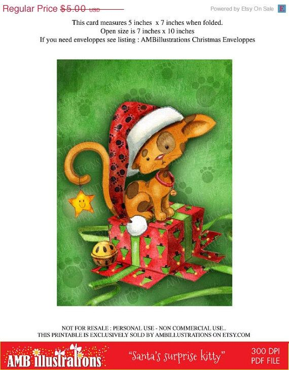 cutey pie cat https://www.etsy.com/listing/160597916/40-off-printable-christmas-cards-diy?ref=shop_home_feat