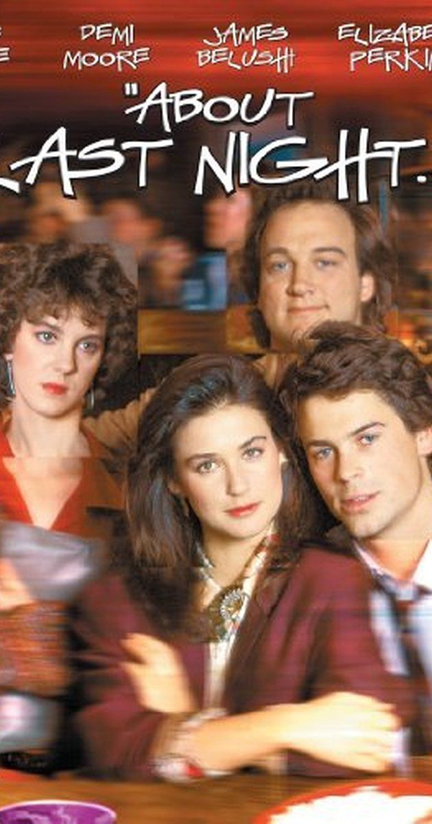 Directed by Edward Zwick.  With Rob Lowe, Demi Moore, James Belushi, Elizabeth Perkins. A man and woman meet and try to have a romantic affair, despite their personal problems and the interference of their disapproving friends.