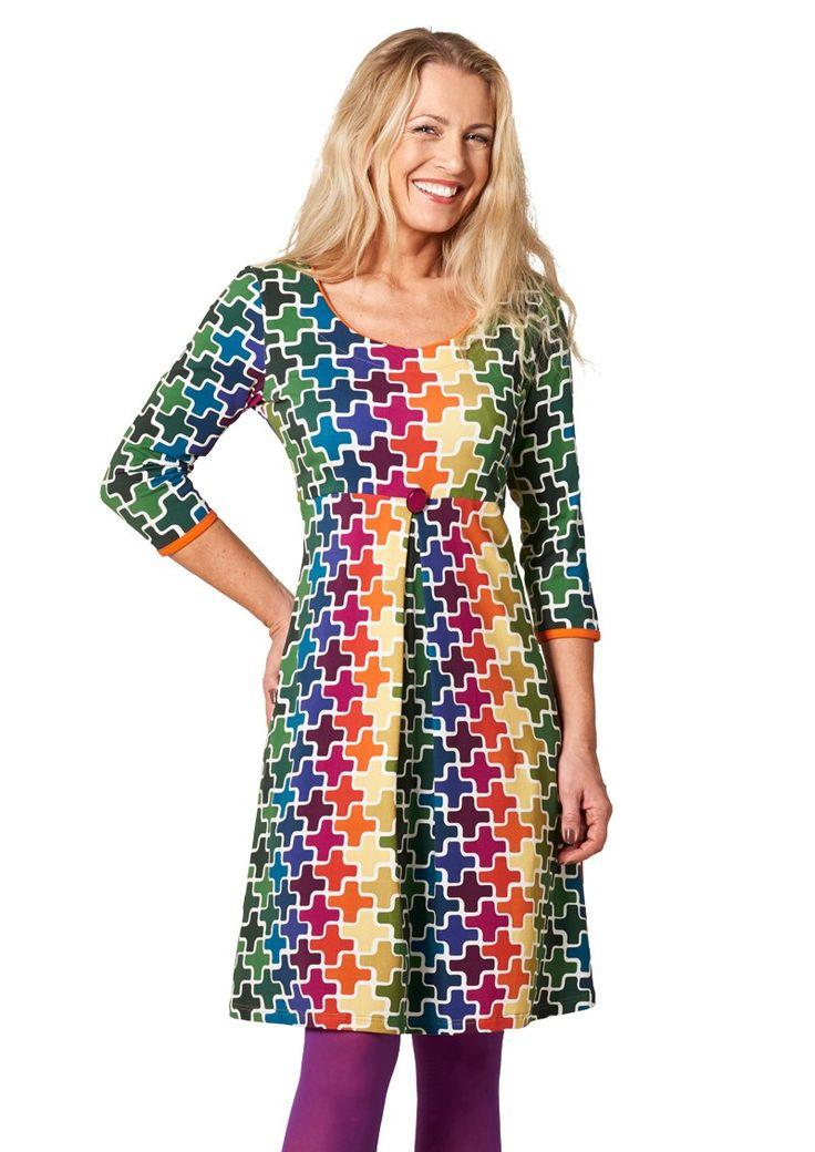 Charles kjole METTE Rainbow Puzzle - Køb kjolen HER