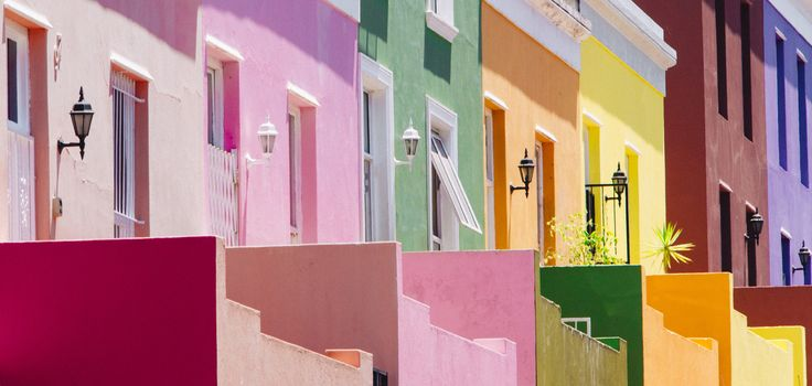 50 Hues of CMYK by Adam Rozanski on 500px  #africa #architecture #bo kaap #bokaap #cape town #color #colour #south africa #vivid
