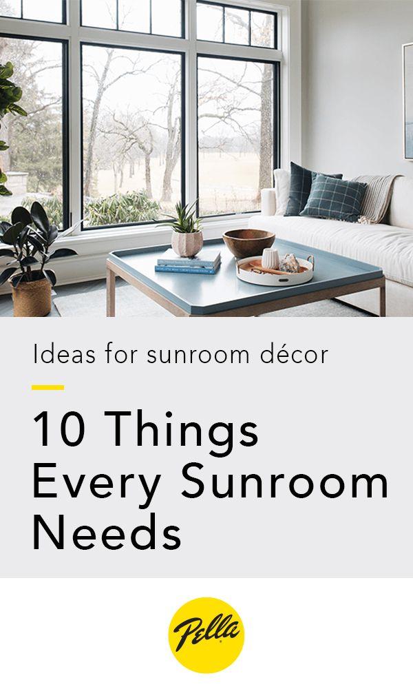 9 Sunroom Ideas To Match Your Style Sunroom Decorating Sunroom Designs Sunroom