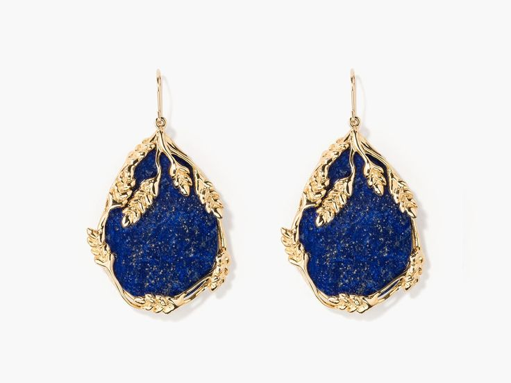 Françoise lapis lazuli earrings - Aurélie Bidermann - http://usd.aureliebidermann.com/edito/en/
