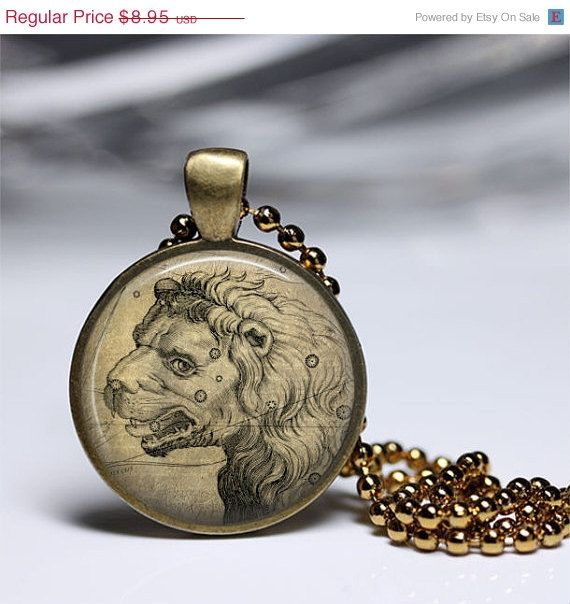 ASTROLOGY LEO NECKLACE