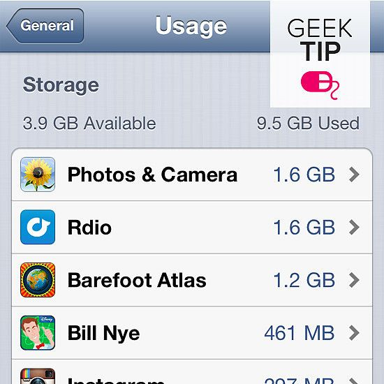 Full iPhone memory? What to delete and what to keep!