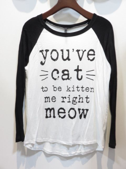 You've Cat To Be Kitten Me Right Meow Junior Baseball T-shirt Junior Baseball T-shirt