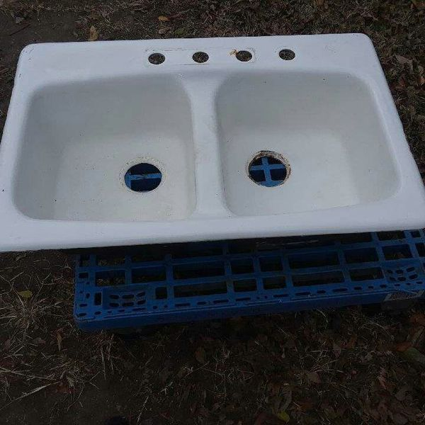 Today Vintage Porcelain Cast Iron Sink For Sale In Dallas Tx