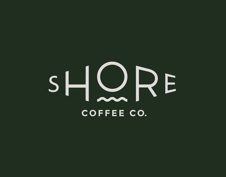 Loki Creative, in Vancouver, produced this crisp logotype for ethical coffee roasting company, Shore, carefully reflecting the company's green image through the colour pallette and typography. In fact, the stylised type works extremely well on all of the company's products.