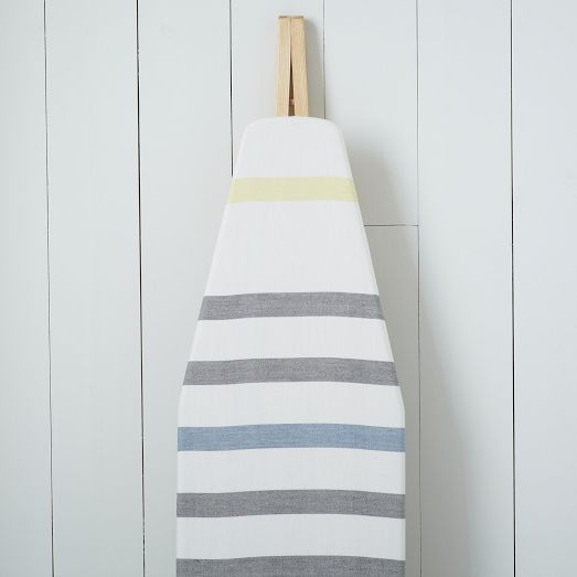 "Cotton Ironing Board Cover - Belize Stripe | west elm  bought this "")"