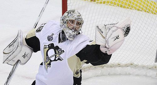 The NHL season reached the Christmas break. Matt Murray told our John Perrotto some interesting things about Marc-Andre Fleury...