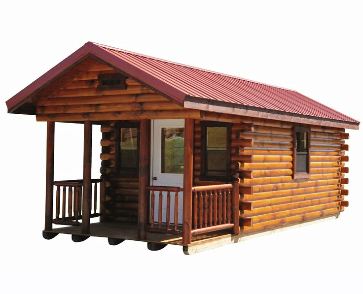 Wayside Lawn Structures   Hunter Log Cabin, Starting At $5,885  (http://waysidelawnstructures.com/hunter Log Cabin/) | Arcitecture |  Pinterest | Log Cabins, ...