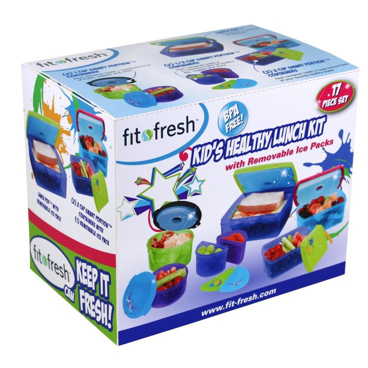 Kids' 17 Piece Kids' Value Chilled Container Set – Fit & Fresh