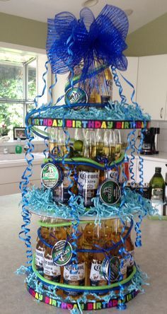 beer bottle cake - Buscar con Google