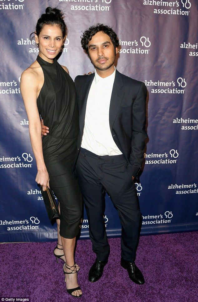 Simply fantastic:Also embracing their dark sides was her co-star Kunal Nayyar and his stu...