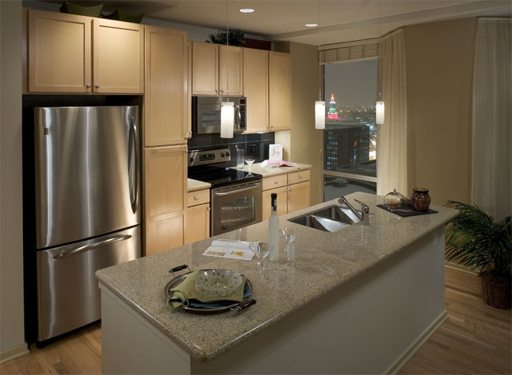 Looking For Apartments In Downtown Denver? Check Out The Designer Kitchens  At 1600 Glenarm!