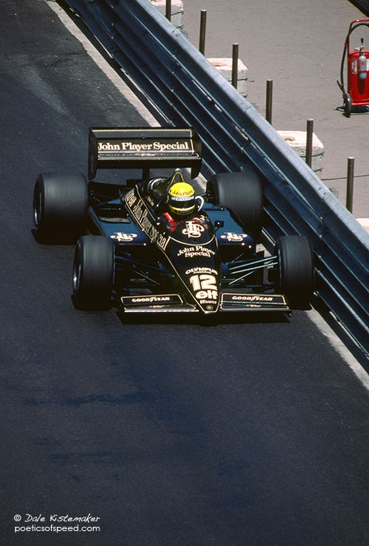 Senna's ability to drive inch perfectly around Monaco became legendary. One on occasion he out qualified Prost by 1.5 seconds.