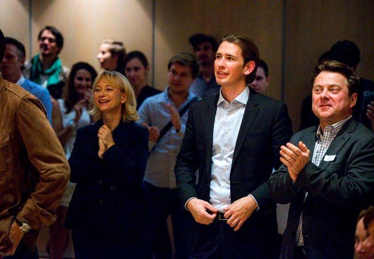 Sebastian Kurz, Bundesminister für Europa, Integration und Äußeres, besuchte die Direktorin des Austrian Cultural Forum New York (Foto ACFNY)