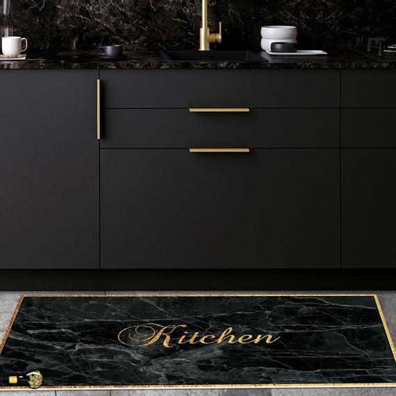 31++ Black kitchen rugs info