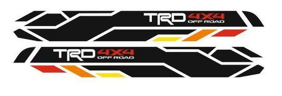 TRD 4x4 PRO Sport Off Road Side Vinyl Stickers Decal fit to Tacoma Pro 16-18