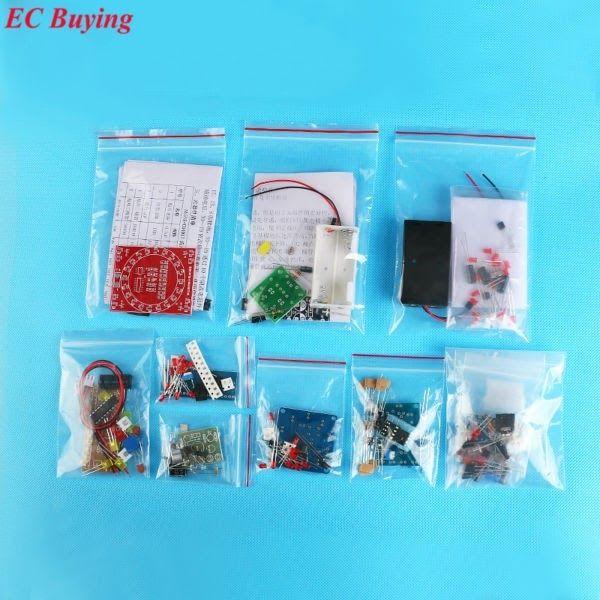 SMD//SMT Components Practice Board DIY Kits Soldering Skill Training Für Beginner