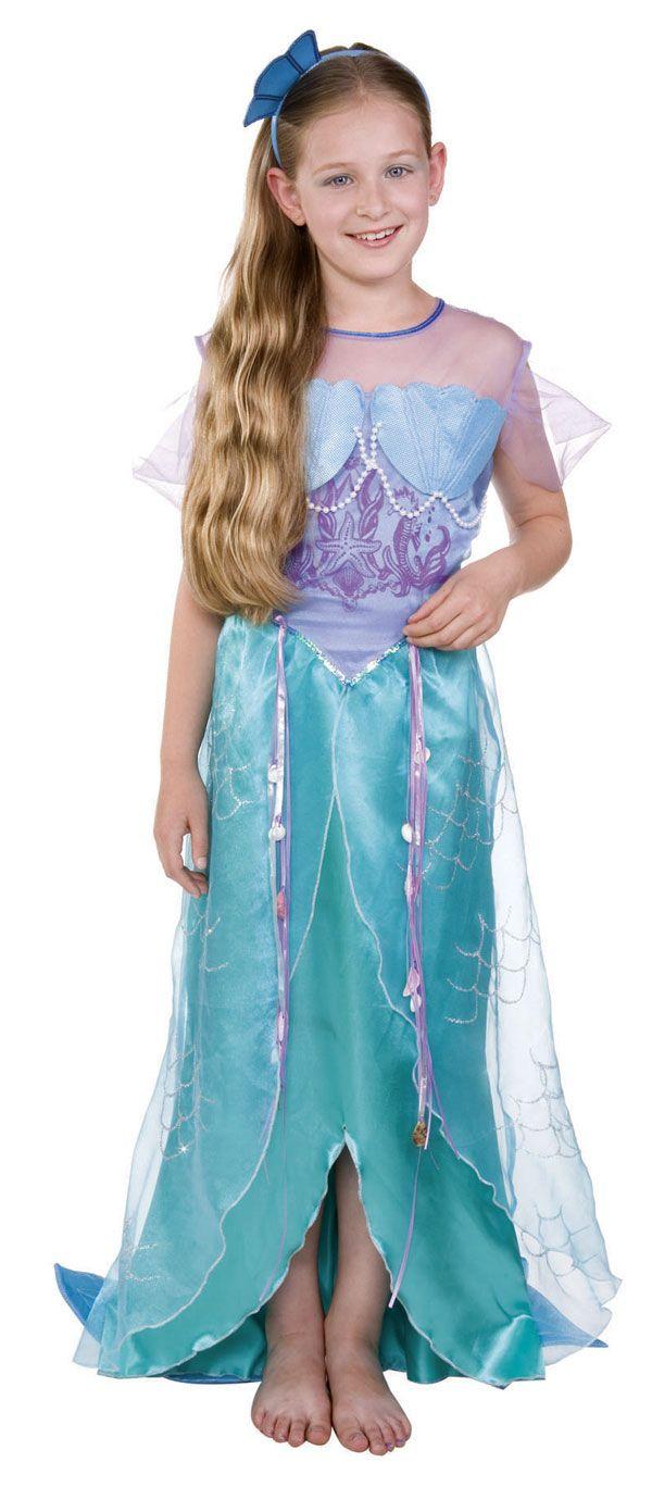 picture of little girl mermaid | Girls Mermaid Costume