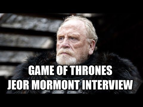 Game of Thrones Jeor Mormont Interview - James Cosmo talks about filming his death scene in season 3, what he thinks about Rast's death in Game of Thrones Season 4 and King Joffrey's death, his favourite scene as Commander Mormont, Jeor's son Jorah Mormont and who he'd like to see on the Iron Throne.