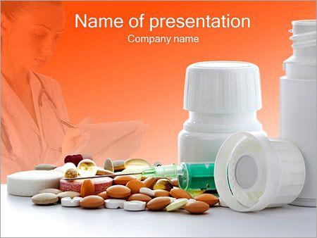 Aguja Y Píldoras Plantillas de Presentaciones PowerPoint
