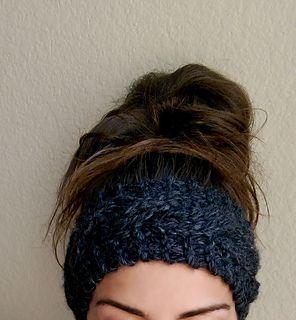 Crochet Ear Warmer Pattern Bulky Yarn : 1000+ ideas about Super Bulky Yarn on Pinterest Yarns ...
