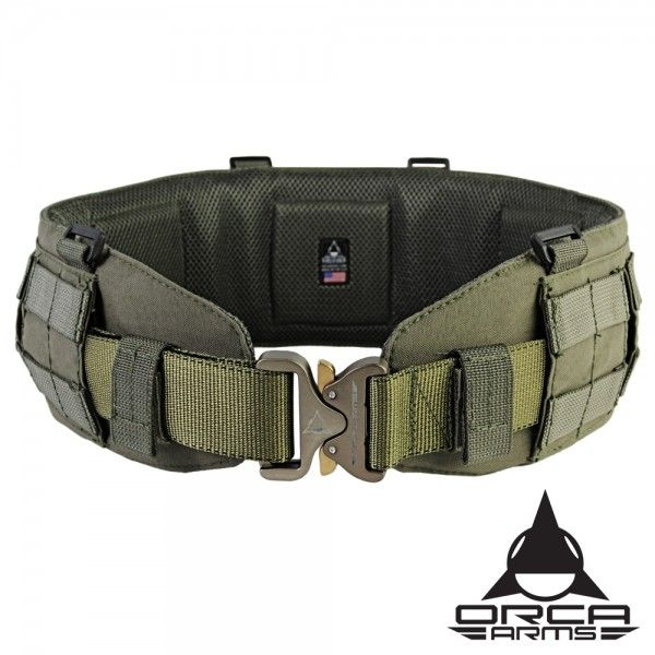 Combat Belt MOLLE Sleeve. Great with AustriAlpin Cobra buckled belts.