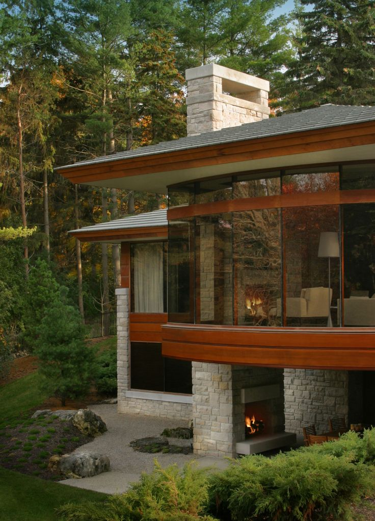 49 best luxury home designs images on pinterest windows - House with big windows ...