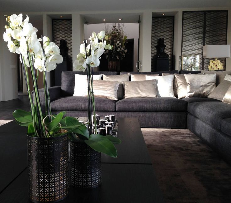 woonkamer in warme tinten : Moderne woonkamers van choc studio ...