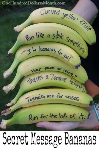 The Evolution of the Lunchbox Note: Secret Message Bananas