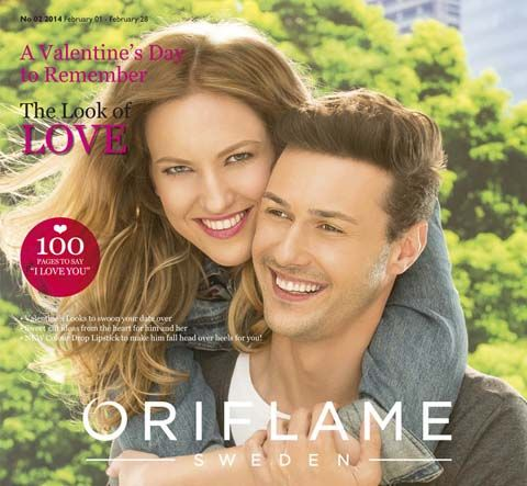 Choose gift ideas from Oriflame February Valentine Special Catalogue.