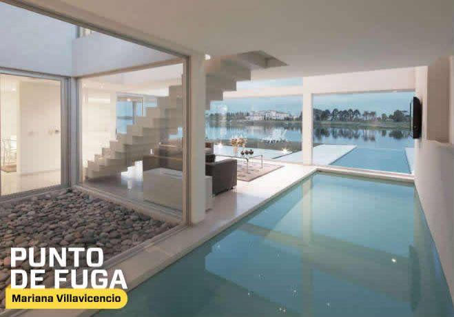 90 best piscinas de dise o images on pinterest - Casas con piscina interior ...