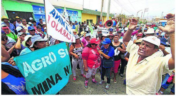 Tía María Pobladores inician hoy paro de 72 horas contra proyecto minero - Diario Correo